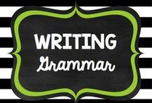 Teaching: Writing: Grammar / by Rock and Teach