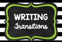 Teaching: Writing: Transitions / by Rock and Teach