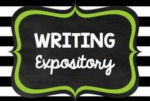 Teaching: Writing: Expository / by Rock and Teach