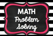 Teaching: Math: Problem Solving / by Rock and Teach