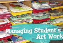 Art Room Organization / by Jessica M
