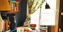 Reading Nooks / There's no place better to be than lounging in a good reading nook.