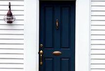 DESIGN - DOORS / Exterior Door colors