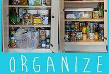 Organization Ideas / Life is a bit nicer when you know where everything is.