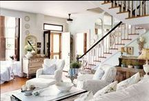 INTERIORS - STAIRCASES / Styling staricases, staircases runners, painted staircases