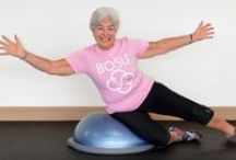 BOSU for Active Aging / Creative exercises for the Actively Aging