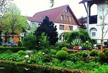 ~ HOTEL BLUMENGARTEN IN GERMANY ~ / Surrounded by the silence of uncontaminated and luxuriant natural landscapes, Blumengarten Hotel delights its guests with the silence of a timeless place and surrounds them with the fascinating magic of nature and flower. Where the beauty of nature merges perfectly with the fascination of history www.landhaus-blumengarten.de