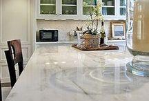 DESIGN - KITCHEN COUNTERTOPS / trending countertops for the kitchen