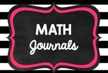 Teaching: Math: math journals / by Rock and Teach
