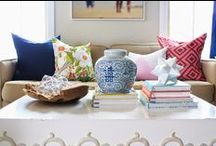 INTERIORS - COFFEE TABLE STYLING / How to style the coffee table