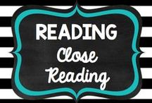 Teaching: Reading: Close Reads / by Rock and Teach