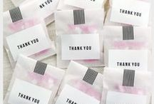 Wedding Favours / Some excellent ideas to help you find the perfect wedding favour.