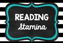 Teaching: Reading: Stamina / by Rock and Teach