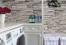 INTERIORS - LAUNDRY ROOMS / Laundry room design and decor ideas.