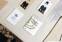 Araki Koman Products / I am an Illustrator and Designer of prints, stationery and textile goods.