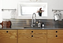 Kitchens I / Stylish + functional kitchens. / by StyleCarrot • Marni Katz