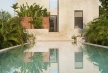 Pools | Water / Pools. Sometimes pools + oceans together.  / by StyleCarrot • Marni Katz