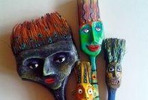 Art ideas/inspirations-3D sculpture / by Kimberly Fancher Kelley