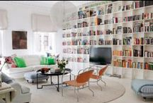 Library | Den | Study / Well designed modern and traditional libraries, dens, studies. / by StyleCarrot • Marni Katz