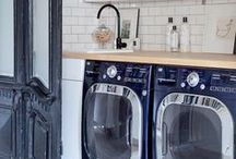 Laundry Rooms / Looking good, laundry rooms. / by StyleCarrot • Marni Katz