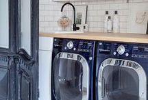 Laundry Rooms / Looking good, laundry rooms. / by StyleCarrot • Marni Katz
