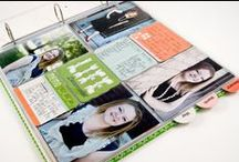 Albums Made Easy Inspiration / The Albums Made Easy System take the process of scrapbooking and memory keeping and simplifies it into three easy steps, making it doable for everyone. 1. Select an album 2. Select journaling cards 3. Insert the cards and photos into the album.