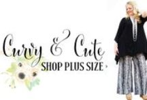 PLUS SIZE / Beautiful clothing for woman size XL through 3XL. These clothes are detailed and darling. Fun fashion for women of all body size and body types.