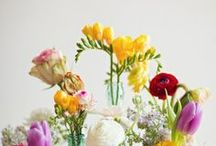 Flower Arrangements for Keir / Pretty flowers, colors, and holders