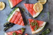 Watermelon / Cool, refreshing and ultra-sweet. Find some delicious (and sometimes unexpected) ways to use this summertime treat.  / by No Recipes