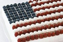 Independence Day / Whether it's dishes featuring red, white, and blue, or perfect sides for a 4th of July BBQ, here's a board to find your Independence Day inspiration.  / by No Recipes