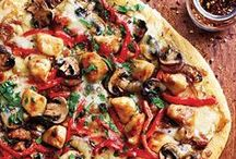 Not Your Average Pizza / Pizza's that go past the usual toppings. Get inspired with these creative pizzas. / by No Recipes