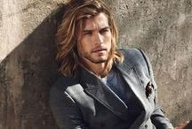 Men: Light Haired / Caucasian men with light colored hair.