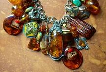 Amber and Silver Jewellery