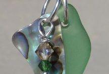 Beach Jewelry / beach glass and beachy type jewelry / by Cheryl Mobley