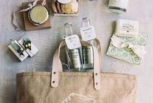 Welcome baskets / Favors