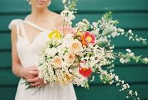 The Modern Cascade Bouquet / by Cori Cook
