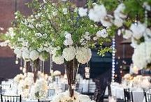 Tall Centerpieces / by Cori Cook