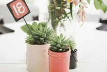 Cluster Style Centerpieces / by Cori Cook