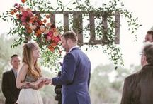 Ceremony Back Drops / by Cori Cook