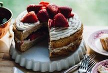 Vegan Baked Goods and Desserts / All recipes are vegan, gluten-free, and free of refined sugars and flours.