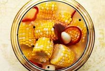 Pickles / All recipes are vegan, gluten-free, and free of refined sugars and flours.