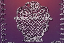 Vintage lace books for various laces / by Michele Aranda