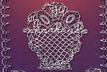 Vintage lace books for various laces / by Michele Aranda