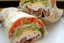 Sandwiches,Wraps&Rolls / by Cindy Myers