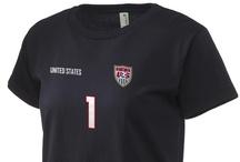 Team USA Olympic Women's Soccer Apparel / by Prep Sportswear