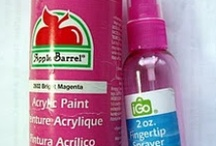 SCB - t & t - paints, mists & other color mediums