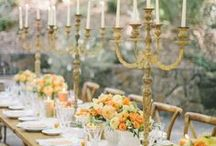 Long Table Centerpieces / by Cori Cook