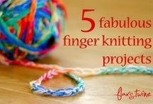 Crafts - Finger Knitting / by Christie Z