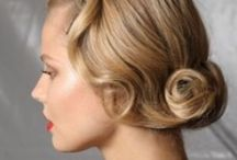 Hair Styles- Vintage/Retro Updos / by Adorne Artistry