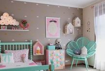 Color Board: Turquoise / Turquoise is one of all time favorites Great accent color for a nursery and adorable in spring or summer kid and baby clothing.